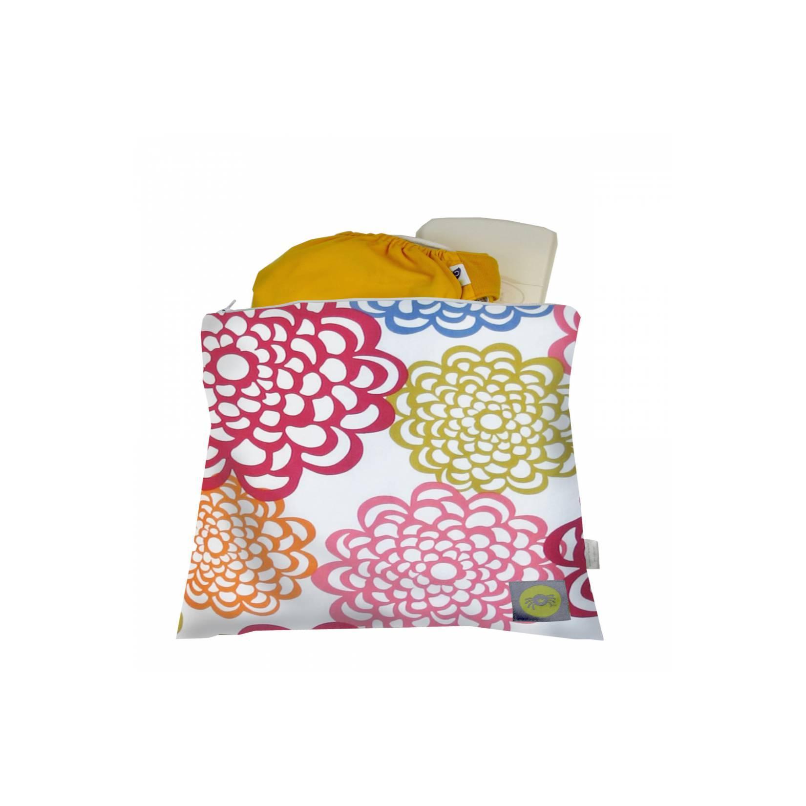 Itzy Ritzy Medium Sealed Wet Bag Social Fresh Bloom