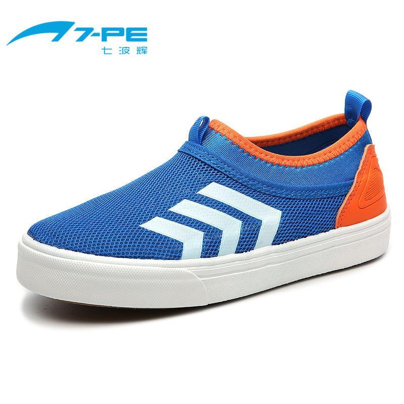 Qibohui Sepatu Jaring Musim Panas Baru Children Sepatu Sneakers Kasual (3112 Langit Biru)