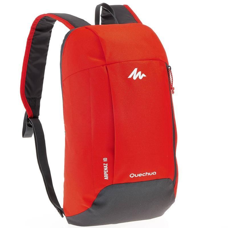 Decathlon Quechua - Tas Punggung Ransel Backpack - Merah
