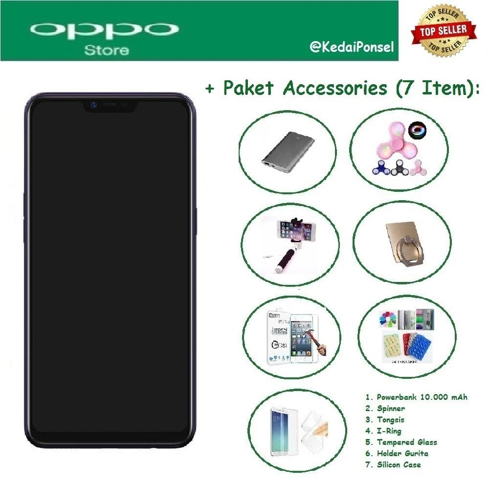 OPPO A3S [2/16GB] + Paket Accessories (7 Item)