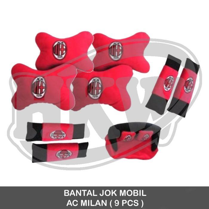 Bantal AC Milan 9 Pcs Mobil All New Avanza Xenia Veloz 2012 - 2015