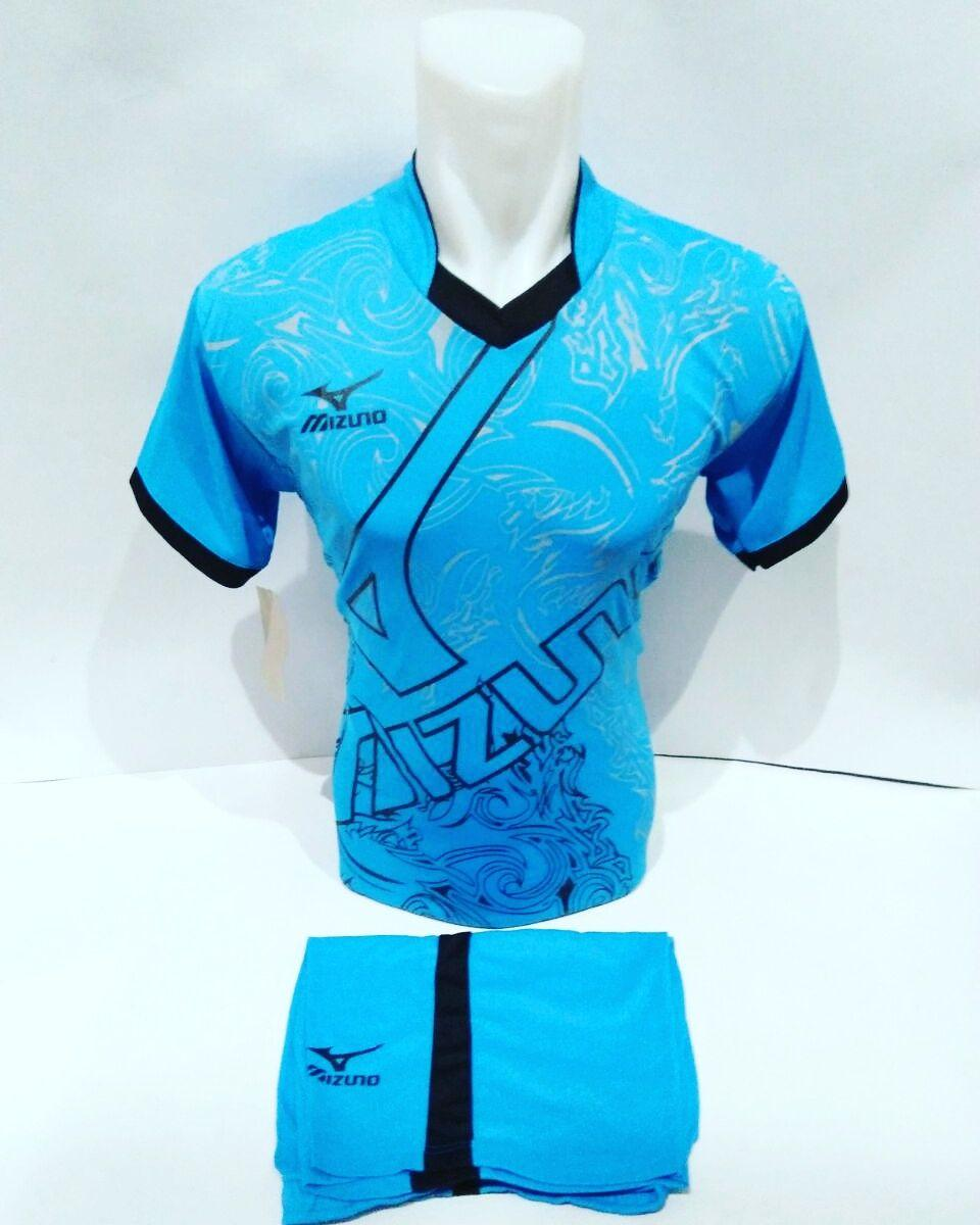 Baju Olahraga Jersey Bola Kaos Setelan Futsal Volly Mizuno