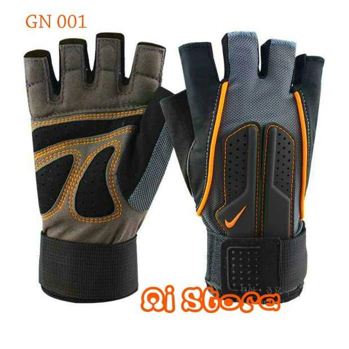 BEST SELLER!!! [Size M] Sarung Tangan Fitness Nike  / Gym Glove Nike GN 001 - PDoPCI