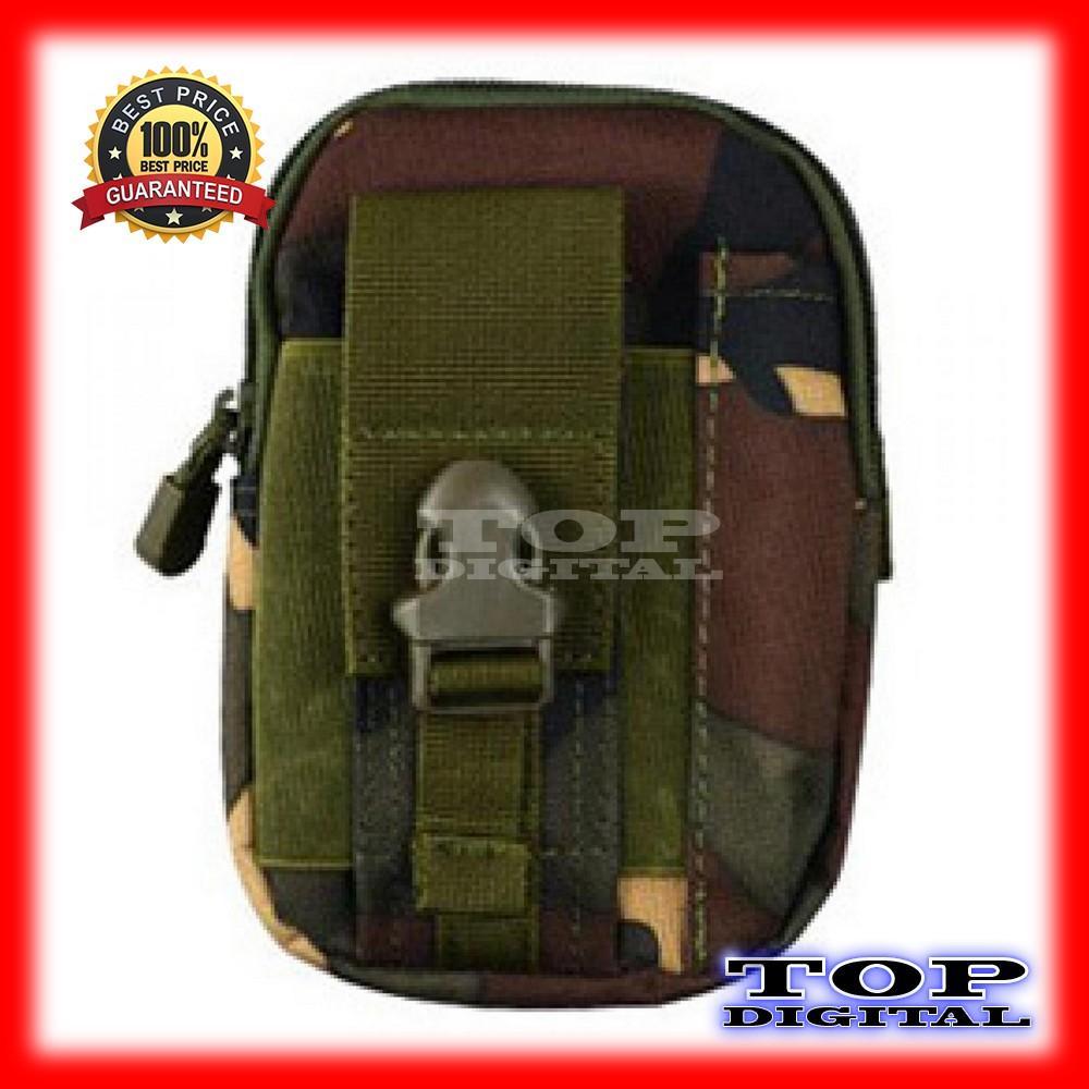 Jual Tas Pinggang Pounch Sarung Hp Tactical 1188 Harga Rp 45000 Army Pria Multifungsi Waist Bag Dompet Millitary