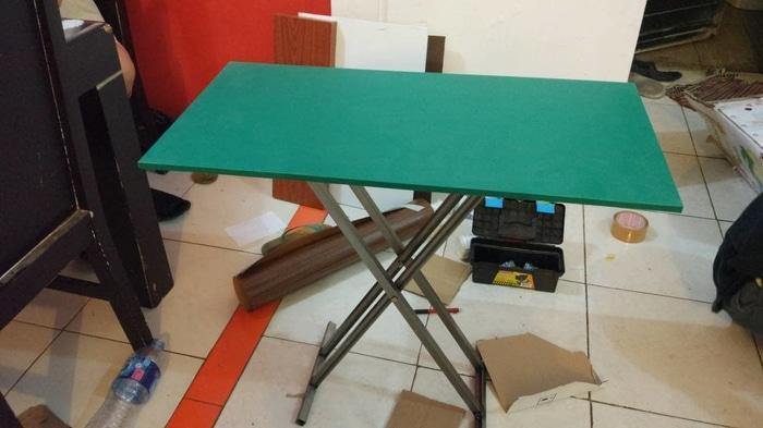Promo 80x40 / 1 unit meja lipat cafe bazaar rumah makan restoran Original
