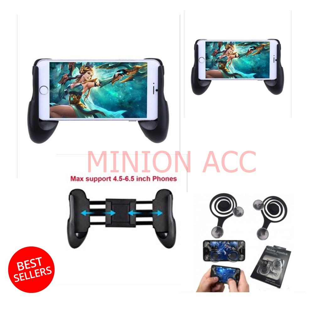 Gamepad Mobile Legend Joystick Controller - Gamepad Smartphone AOV + Joy Stick Mini Game Mobile [ paket hemat ]