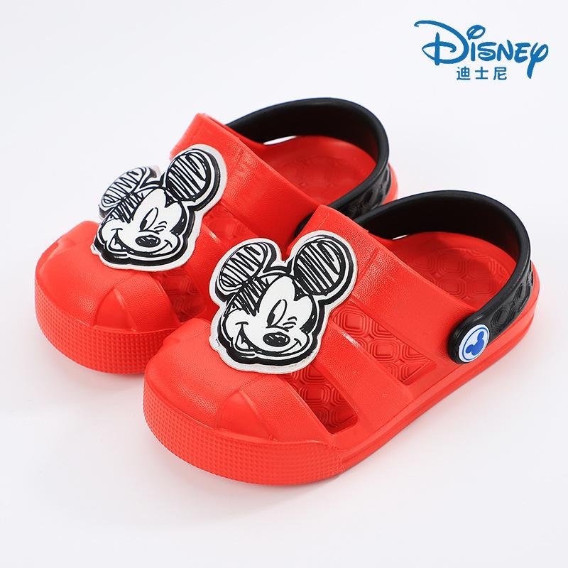 Disney Sandal Musim Semi atau Musim Panas Baru Sepatu Berlubang Pantai Anak Laki-laki