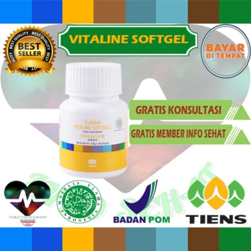 Pemutih wajah herbal alami vitaline softgel tiens 10 kapsul (cream wajah)/Edisi U-sebelas-7