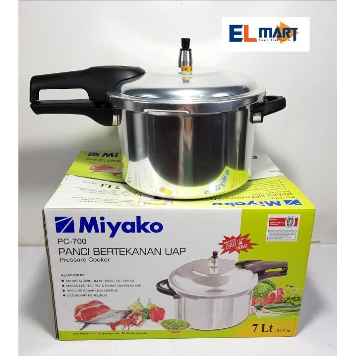elmart Miyako panci presto 7L PC700/panci pelunak