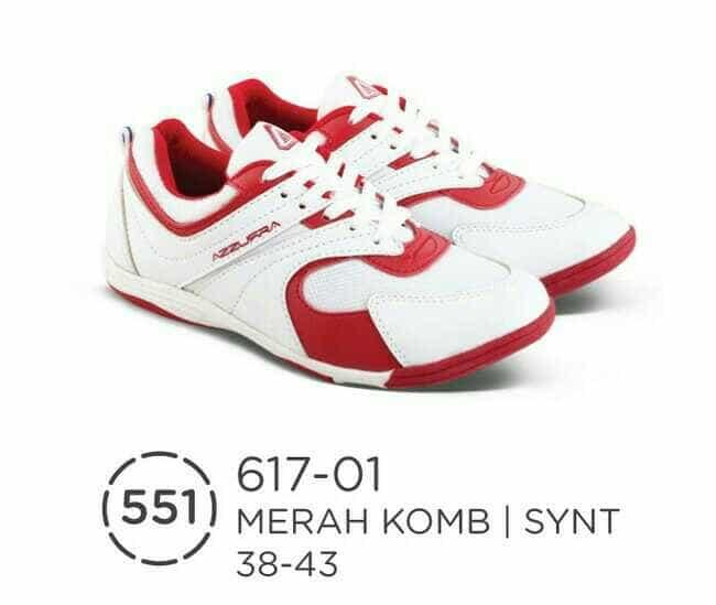 Promo Sepatu olahraga pria badminton-asli distro sepatu cowok merah biru az Fashion