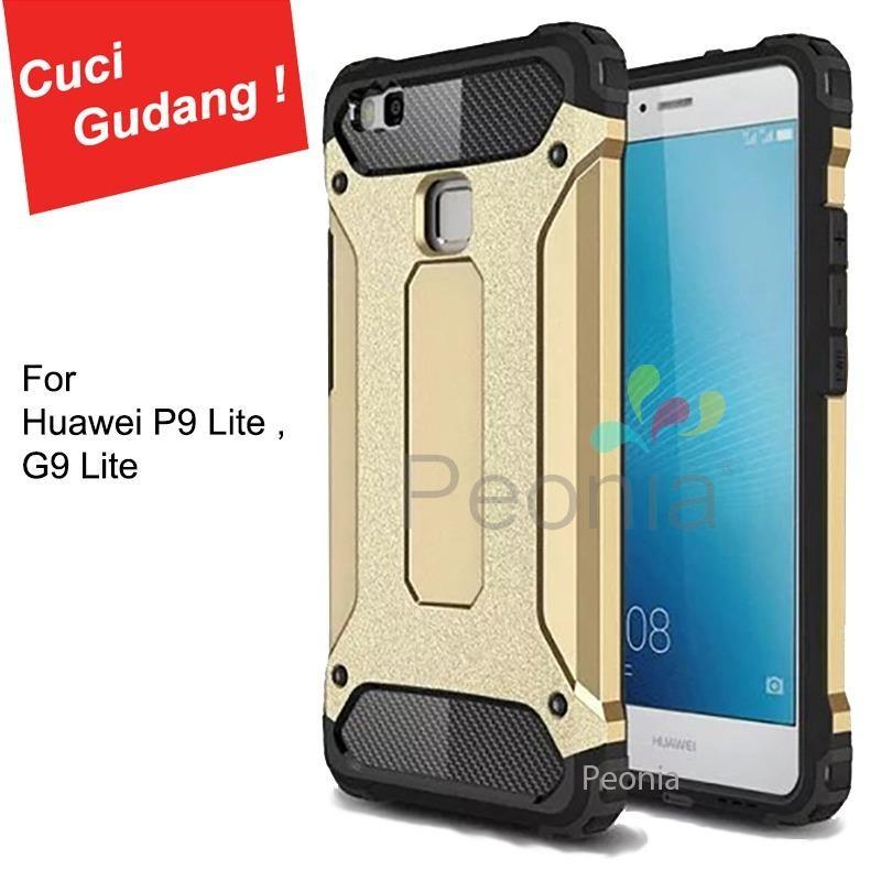 Peonia Kingkong Defender Slim Armor HardCase for Huawei P9 Lite / G9 Lite - Gold
