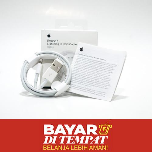 Kabel Data for iPhone 5 5S 6 6S High Quality Kabel Data Lightning Apple iPad Data Cable - Bisa Untuk iPhone 4 4s / iPhone 5 5c 5s / iPhone 6 / iPhone 6s / iPhone 6+ 6s+ / iPhone 7 7+ / iPhone 8 / iPhone X