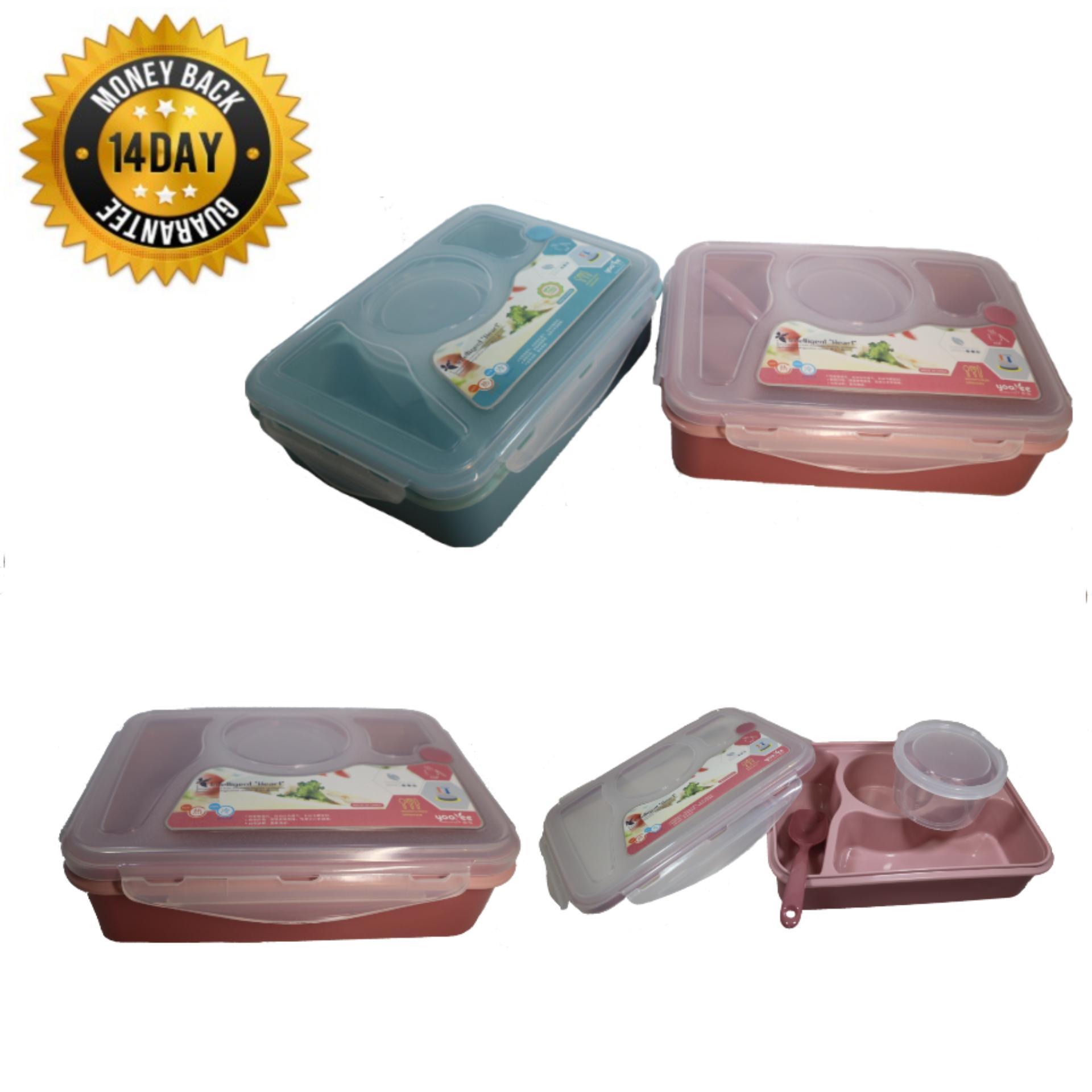 Jual Produk Yooyee Kotak Makan Lunch Box Sup Bento Hijau