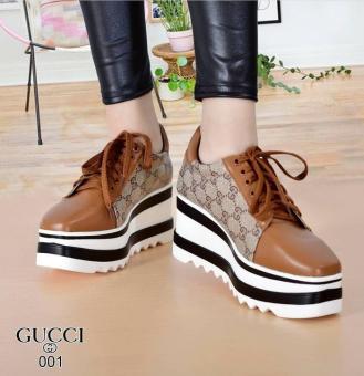 Bandingkan Toko Sepatu Wanita Wedges Divya SDS243 Tan   wedges   sandal  wedges wanita   slip cfff9951d3