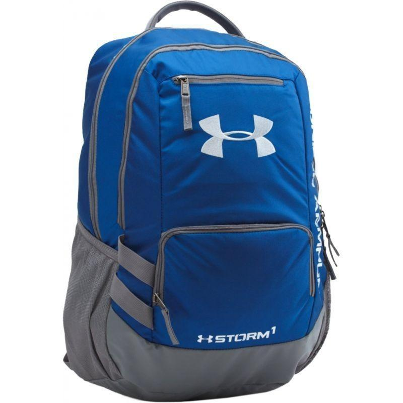 Under Armour Original ransel Hustle Storm Backpack II - 1263964-400 - biru 6ef2b757a1