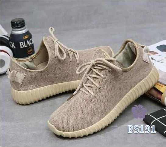 Sepatu Wanita Sneakers Yezzy Tali - BS7 - Putih, 36 / Sepatu Wanita / Sepatu