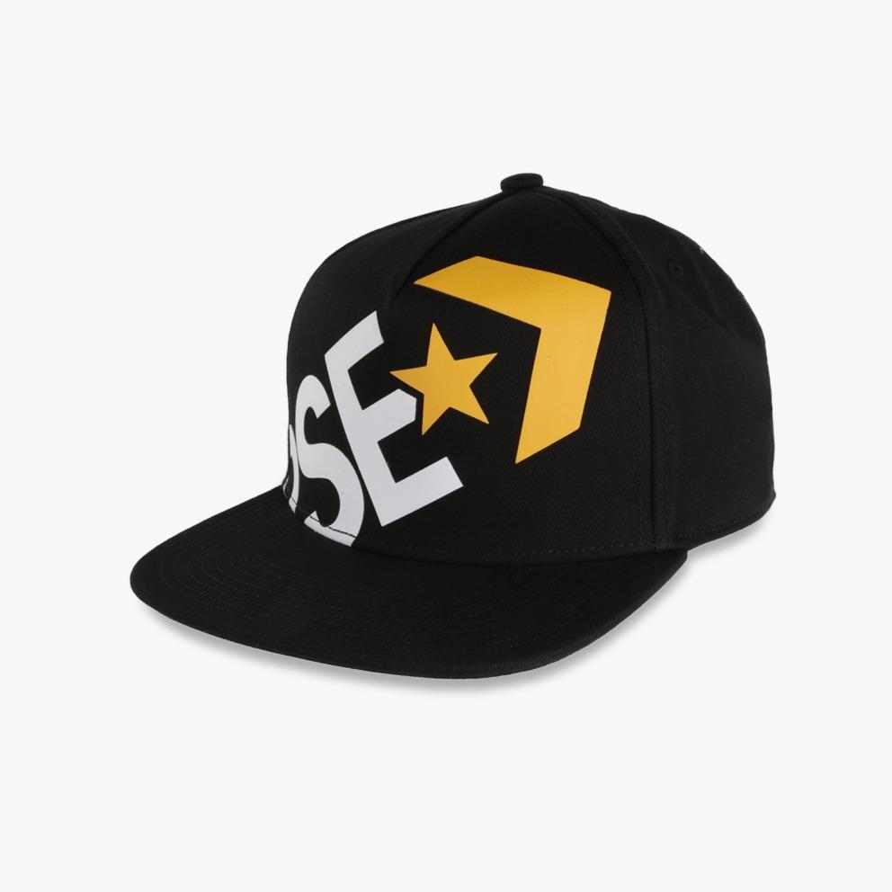 Converse Wrap Around Snapback - Hitam
