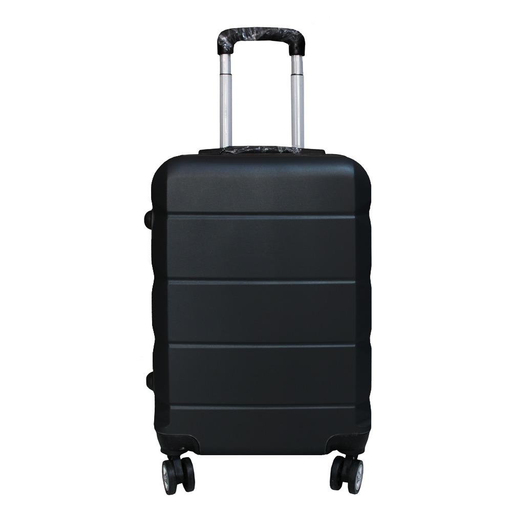 Koper Polo Expley Hardcase Luggage 24 Inchi 802-24 Anti Theft Original - Black