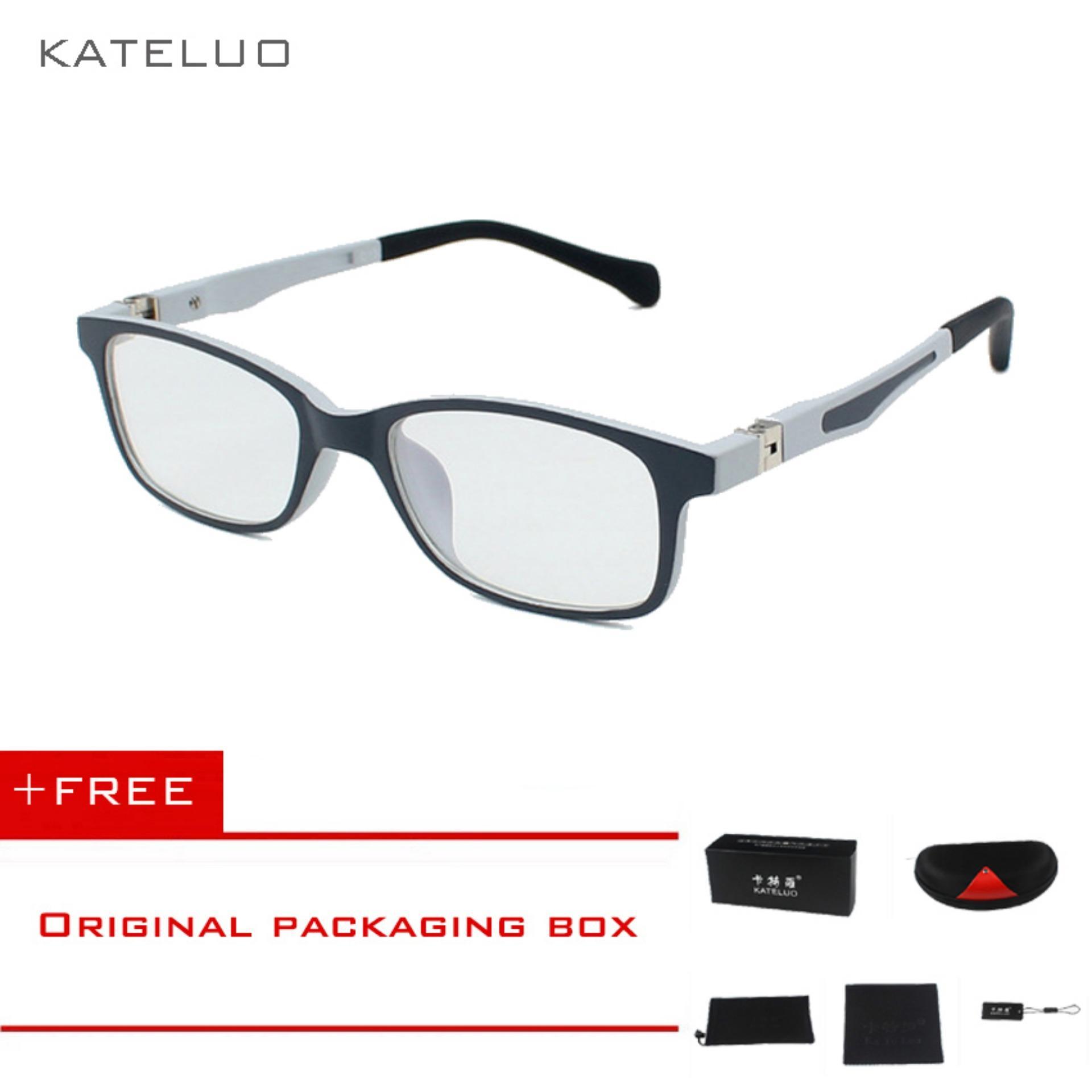 KATELUO tempat anti-Komputer Biru kelelahan laser radiasi-tahan kacamata bingkai kacamata anak F1021