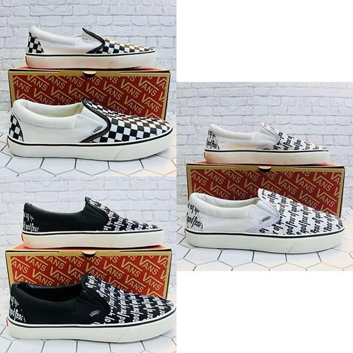 ORIGINAL!!! Sepatu Vans Slip On Man