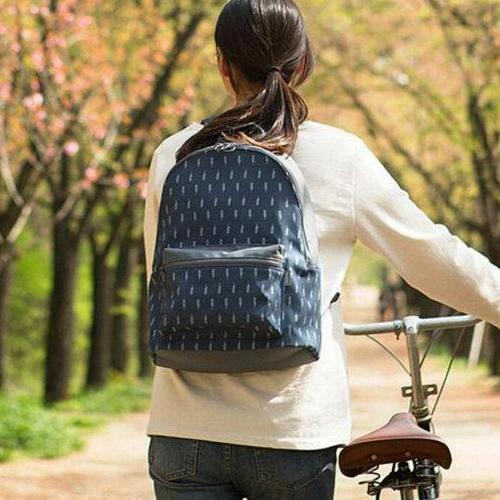 ZenBlossom Tas Ransel Wanita Import Charming Korean Backpack / Tas Sekolah / Tas Kuliah / Tas Laptop
