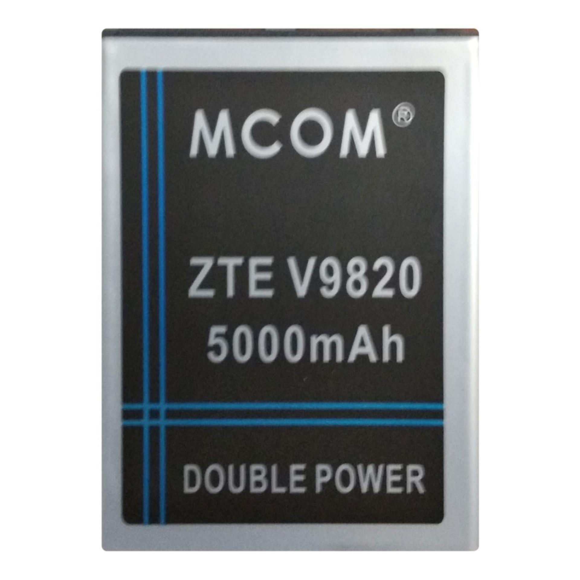 M-Com Baterai Double Power Battery for ZTE Blade A5 / Bolt Powerphone V9820 V9802 - 5000 mAh