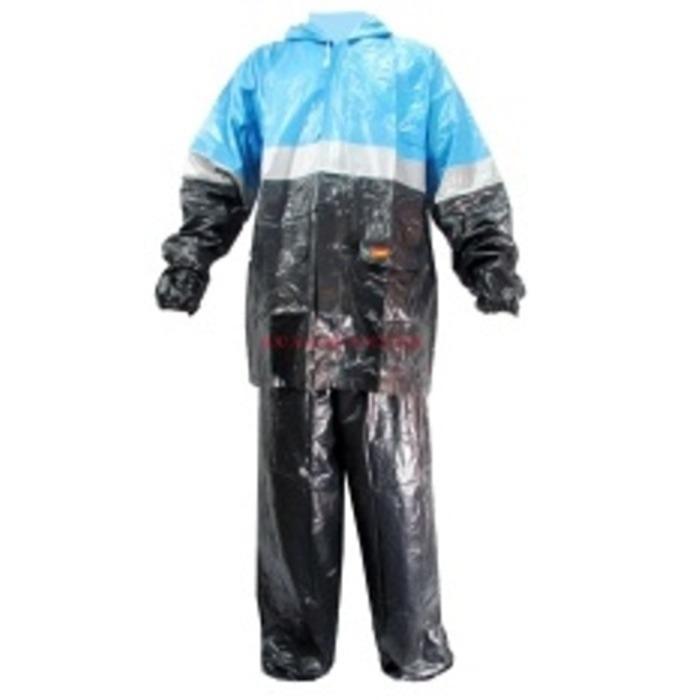 Langitbiru Jas Hujan Jaket Celana Elmondo Vario 908 Dewasa Motor Karet asv