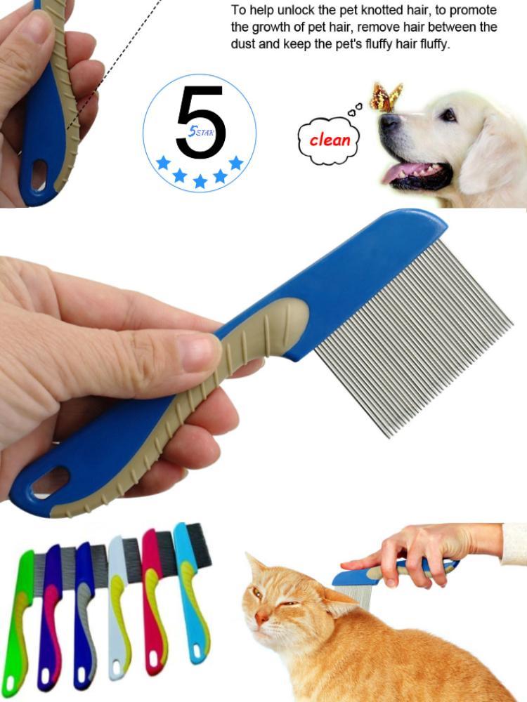 Sisir Serit Ajaib Penghilang Kutu dan Telur Gagang Panjang 5STAR / Sisir Penghilang Kutu Ajaib Anjing
