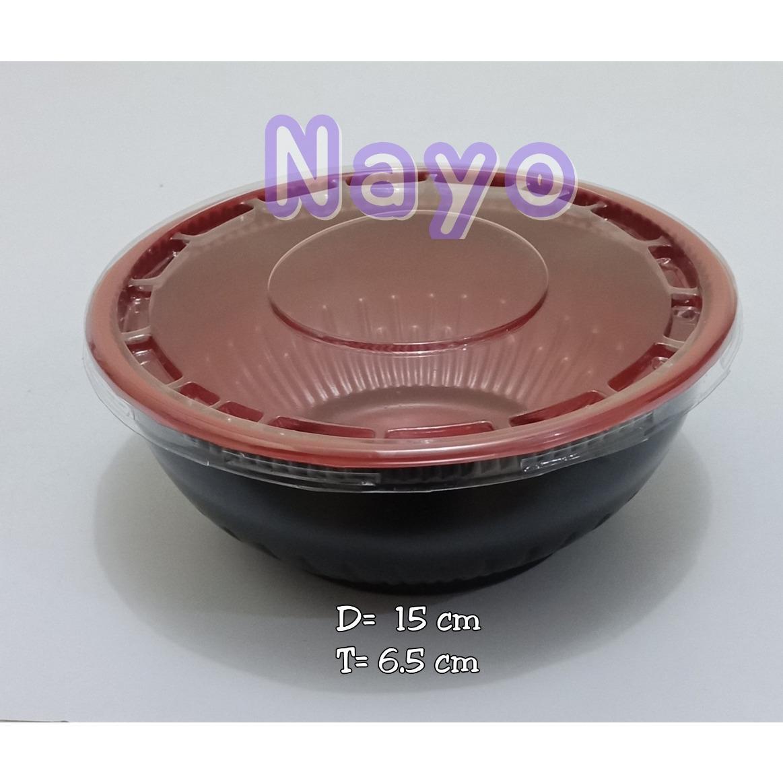 Mangkok mika (50pcs)/Mangkok ramen/Tempura bowl