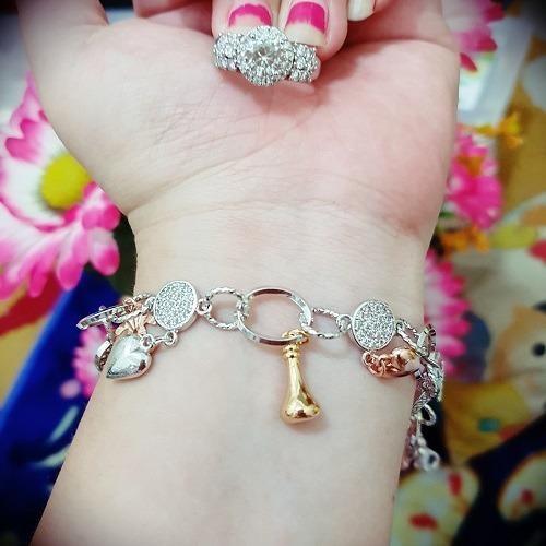 gelang cincin permata cantik tears xuping gold silver