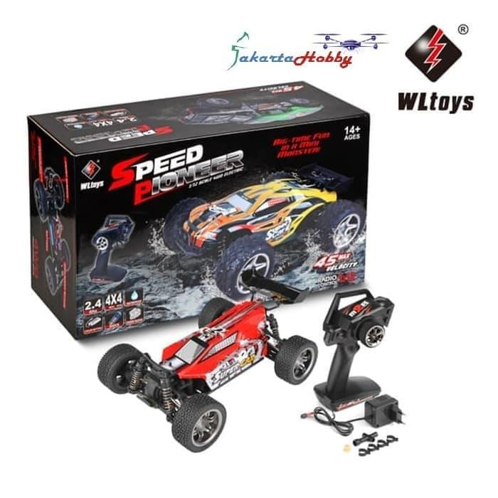 RC Car WL 12401 1/12 4WD 2.4Ghz Buggy Offroad Monster