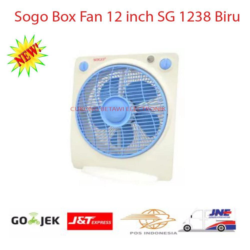 Sogo Box Fan 12 inch SG 1238 Biru-Promo