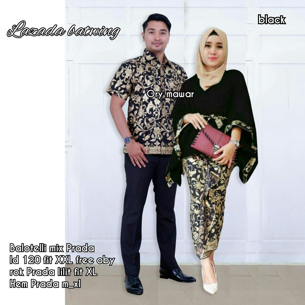 TERMURAH - Batik Terbaru   Batik Couple   Baju Muslim Wanita Terbaru 2018    Couple Batik 25f7087eb0