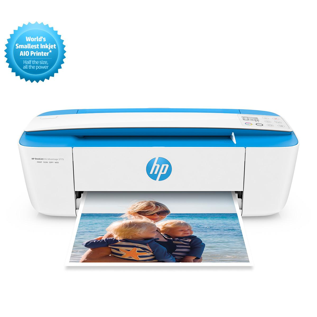 HP DeskJet Ink Advantage 3775 All-in-One Printer (Wireless) RESMI