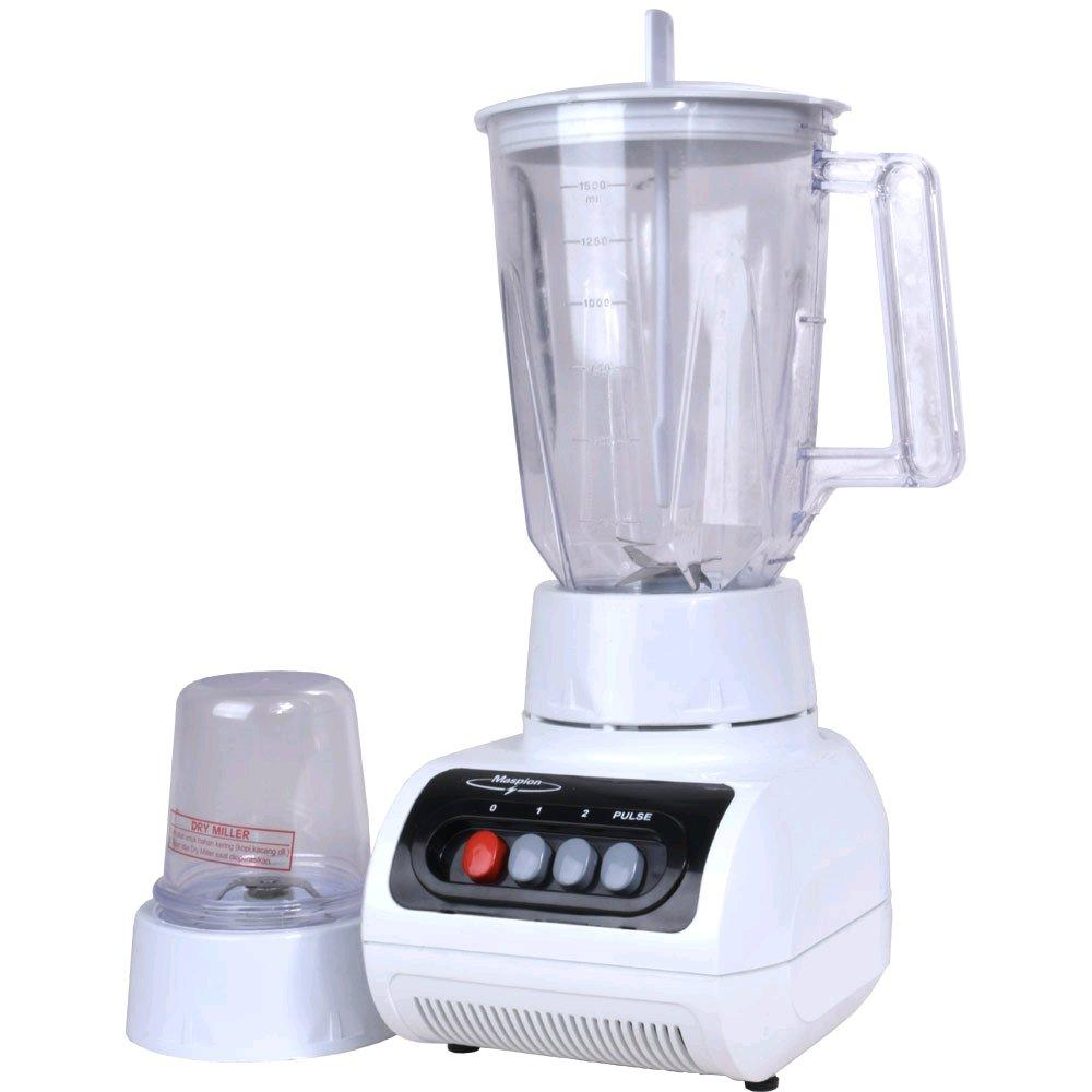 Maspion Blender Plastik 2in1 MT1209