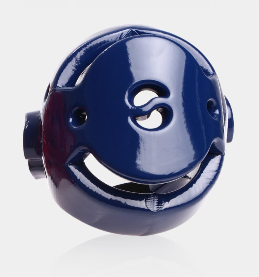 Taekwondo Pelindung Gigi - Busa Membentuk Kepala / Helm (biru / Merah) / Kepala