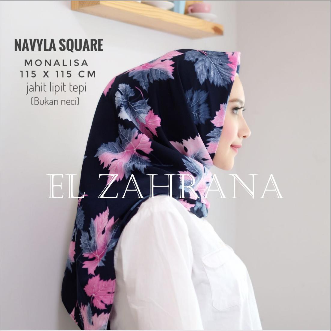 El Zahrana Kerudung Segi Empat - Jilbab Segi .