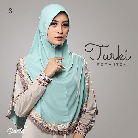 mooie - jilbab hijab khimar turki polos syari jumbo bahan premium