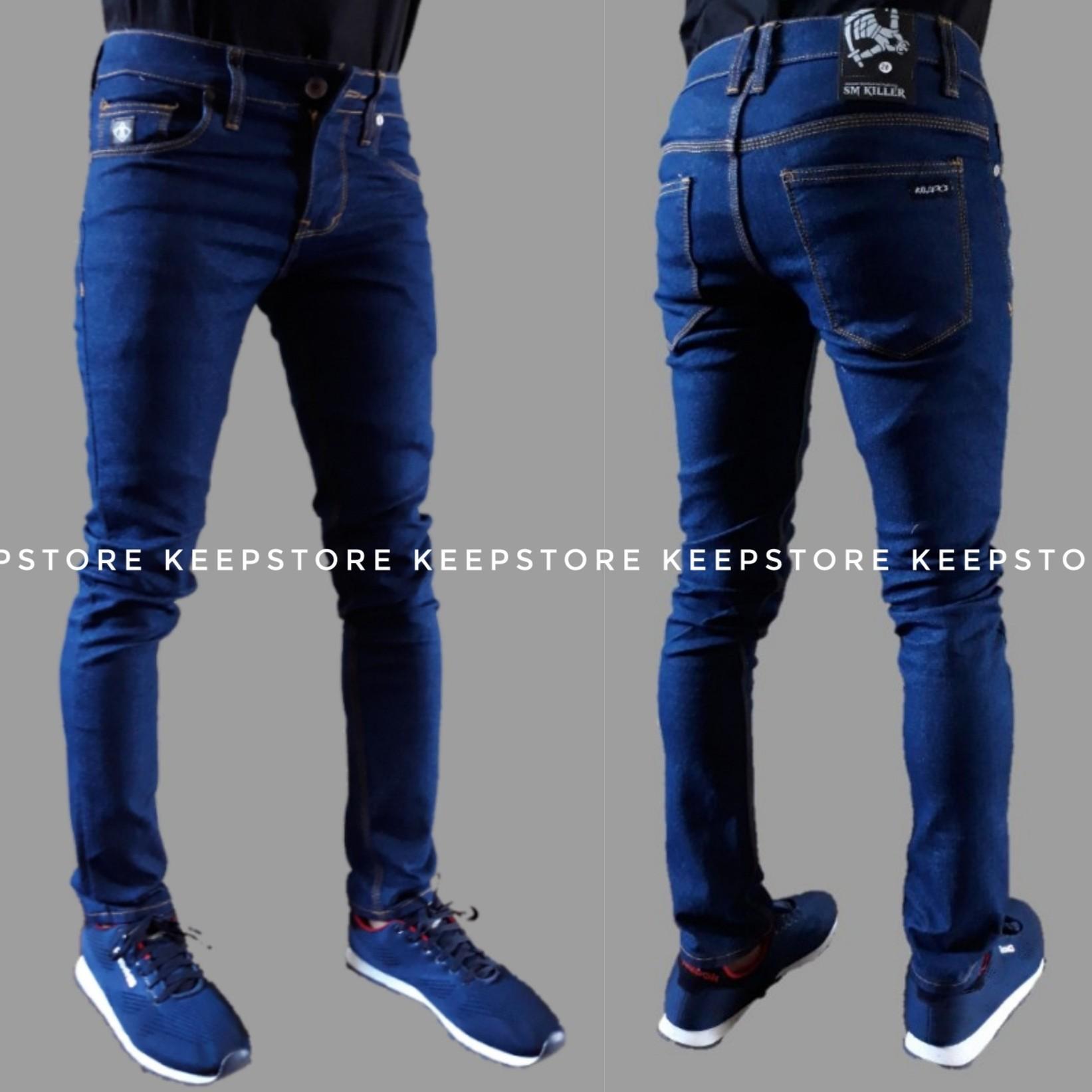 Celana Jeans Pria Branded Terbaik Cardinal Formal Slim Fit Office Pants Abu 32 Skinny Slimfit Pensil Biru Navy
