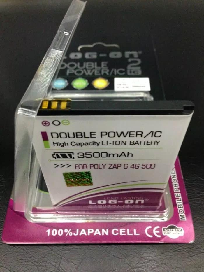 Baterai Battery Batre Polytron Rocket L501/PL-7U6/Original/Log on Double PowerIDR59900. Rp 59.900