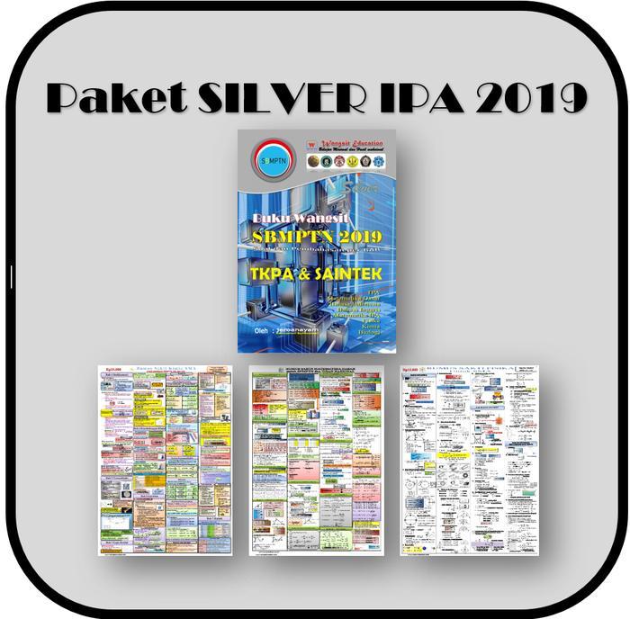 Paket Buku Wangsit Sbmptn 2019 Silver Ipa/saintek By Blamosk Shop.