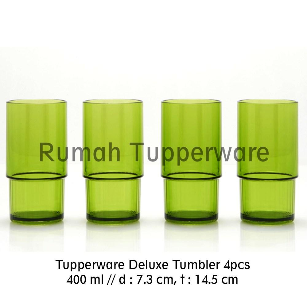 Tupperware Deluxe Crystal Tumbler Gelas Tinggi