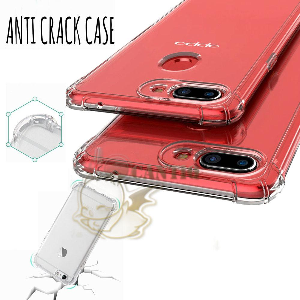 Rp 3.590. QCF Silicone Anti Crack Oppo F9 2018 Soft Case ...