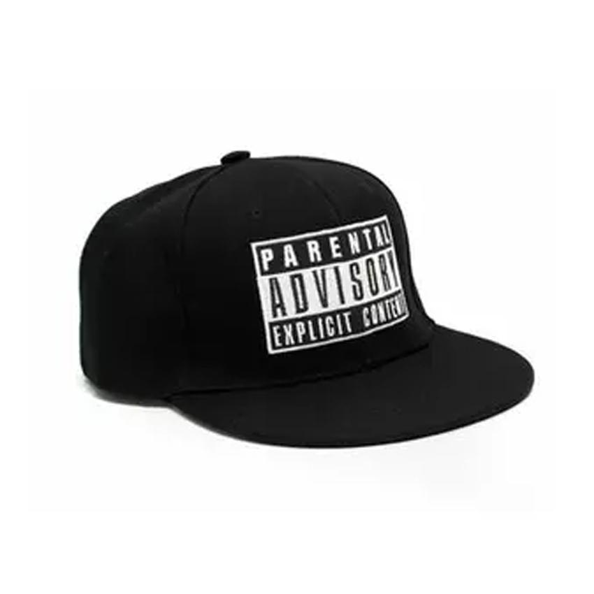 Jakarta Distro Topi SNAPBACK Parental Advesoty Hip Hop BLACK PREMIUM