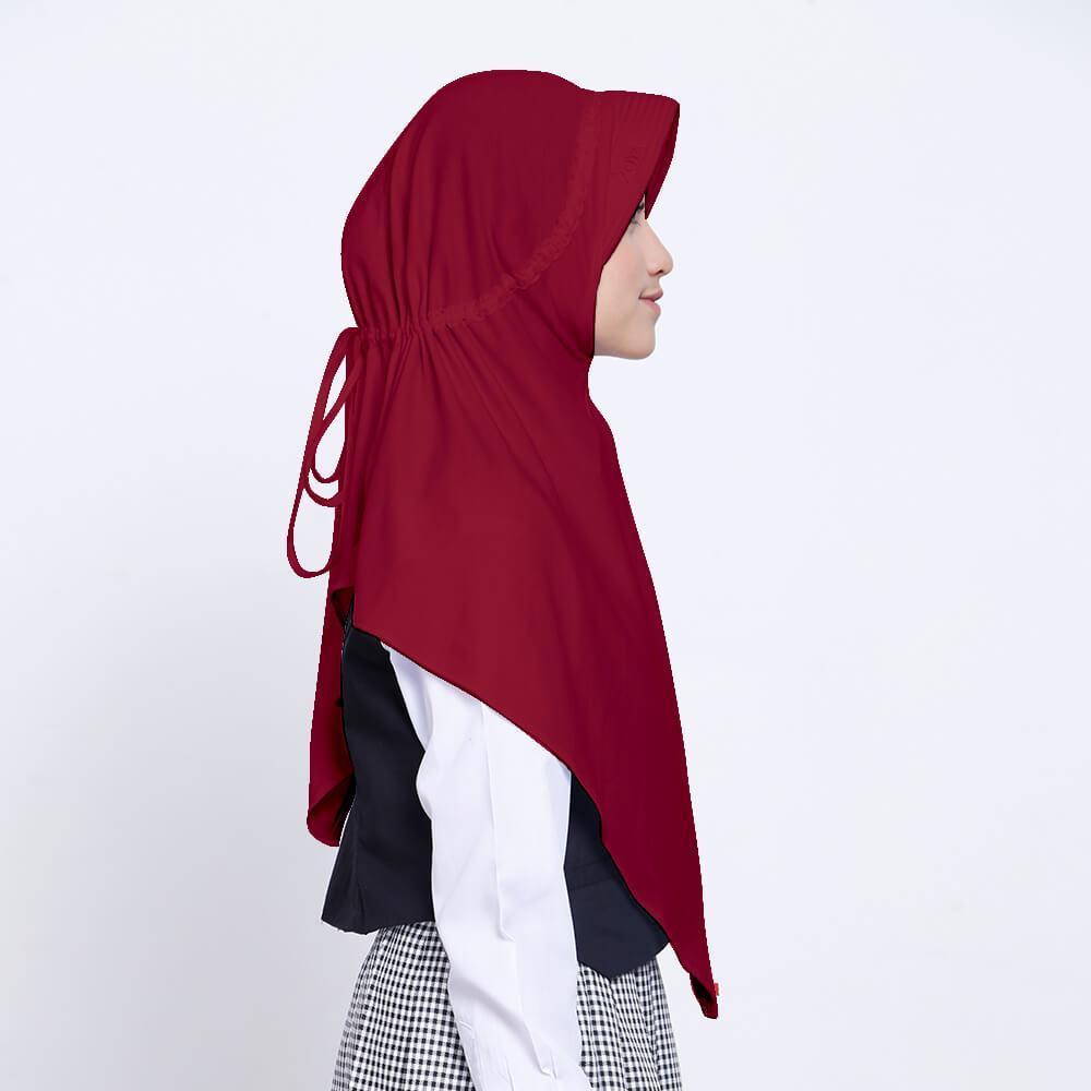 Jual Hijab Zoya Kerudung Murah Garansi Dan Berkualitas Id Store Segi Empat Motif Cantik Farah Scarf Blue Rp 54000