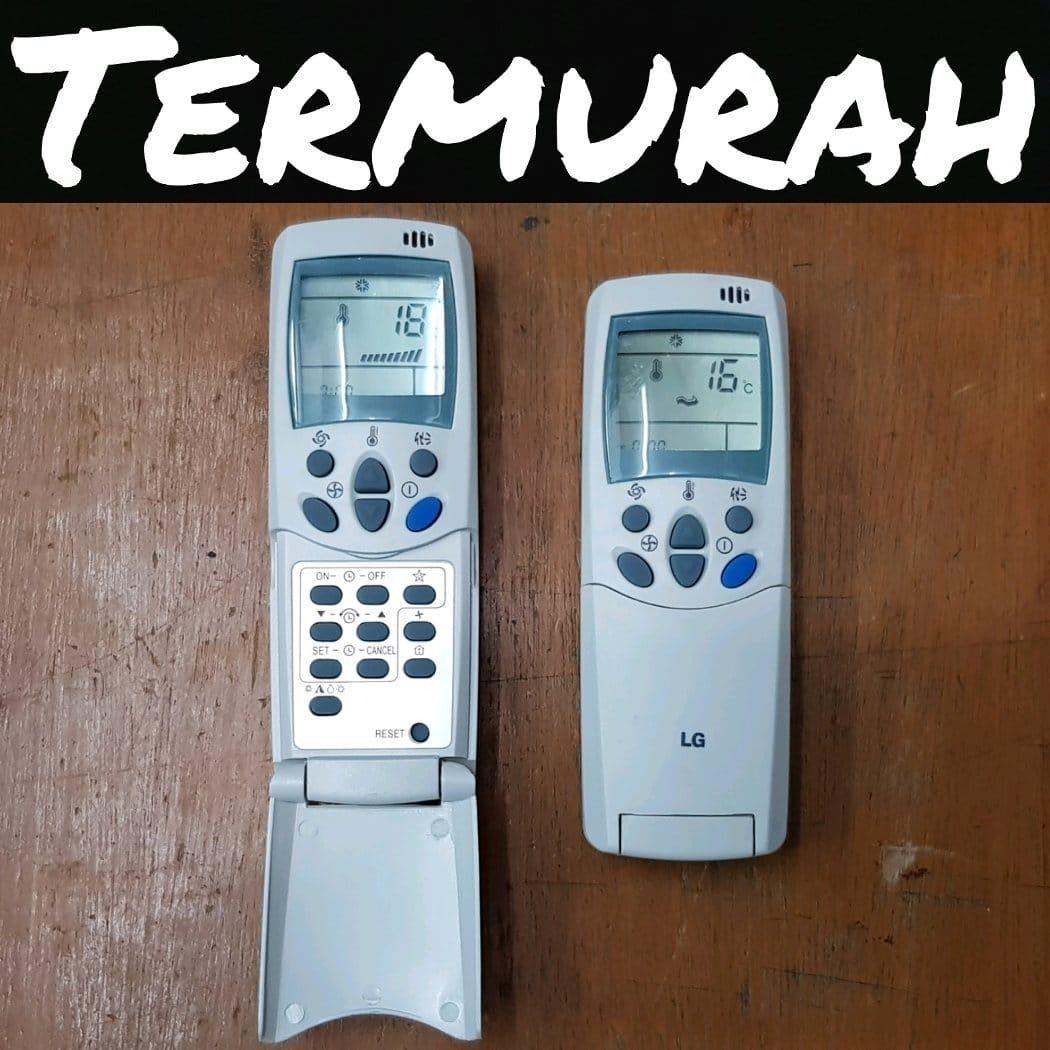 LG remote Ac cocok Utk Semua Type - PUTIH