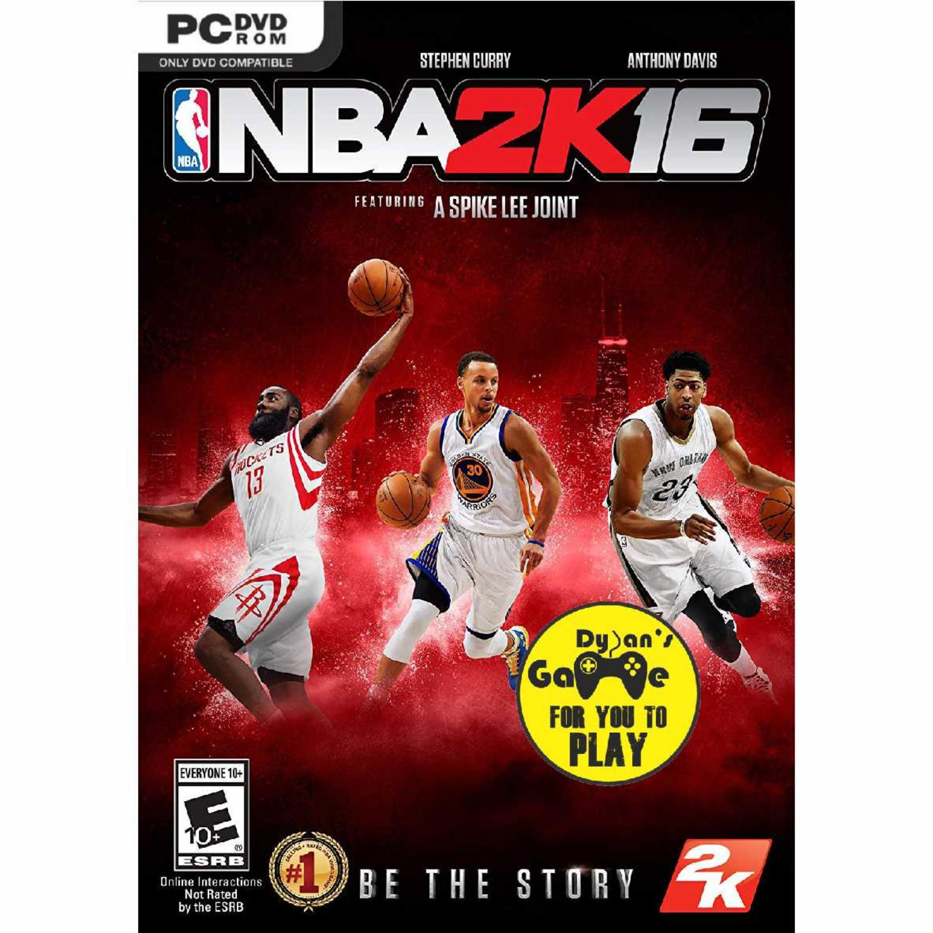 Nba 2k16 - Game Pc By Dylansgame.