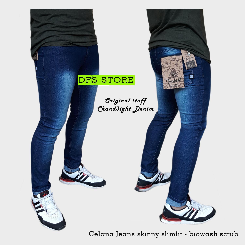 DFS-ChanEight Celana jeans skinny slimfit pria 269641cbaa