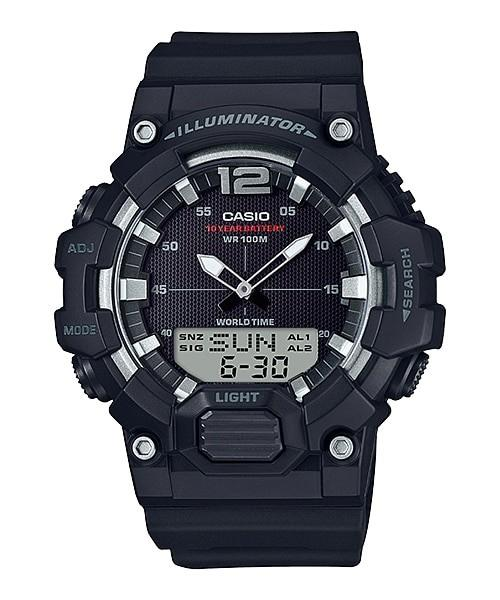 Casio Youth Combination HDC-700-1AVDF - Jam Tangan pria - Black - Strap Resin - LM