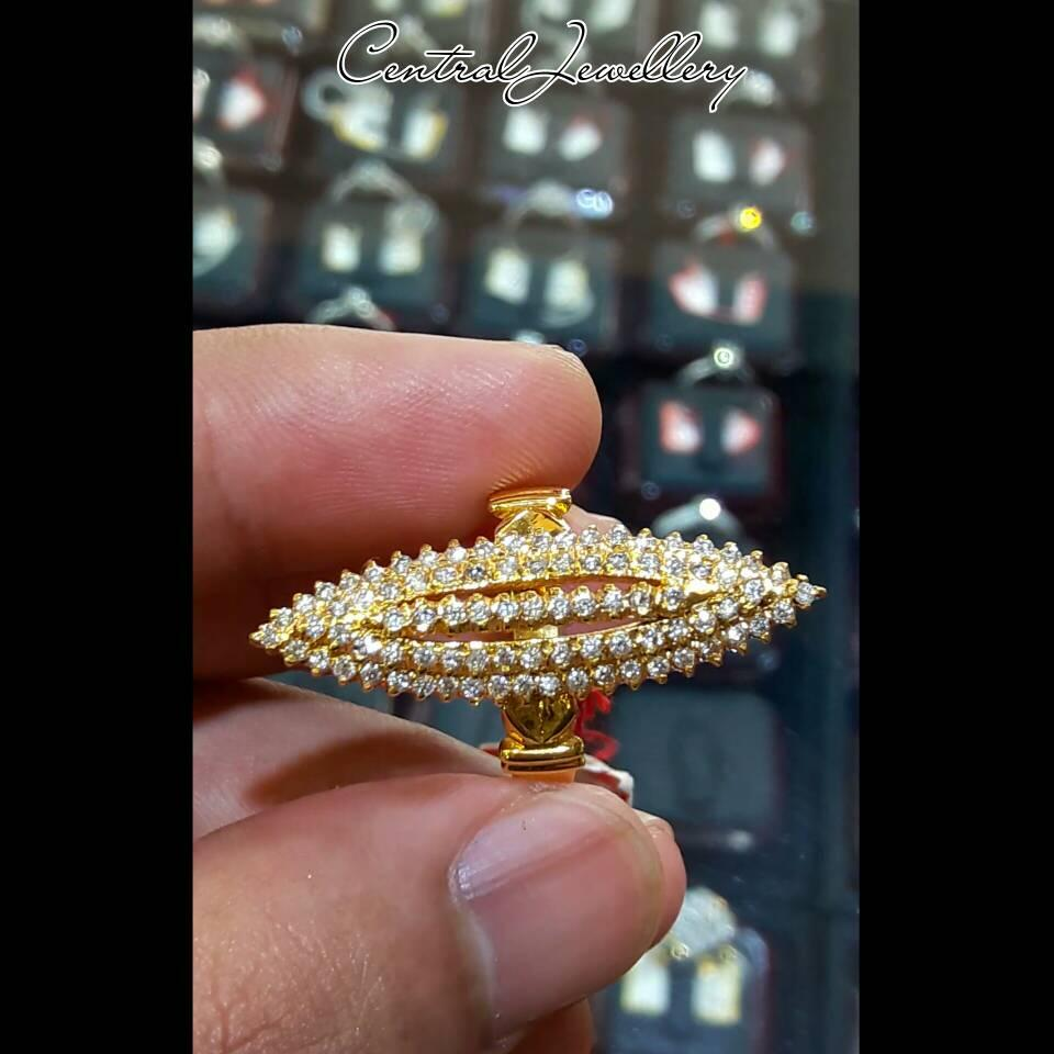 cincin markis emas kuning berliam eropa